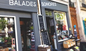 Going for a song … Balades Sonores is popular with 'diggers' looking for gems.
