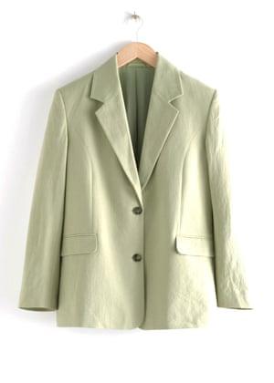 Linen blend, £95, stories.com