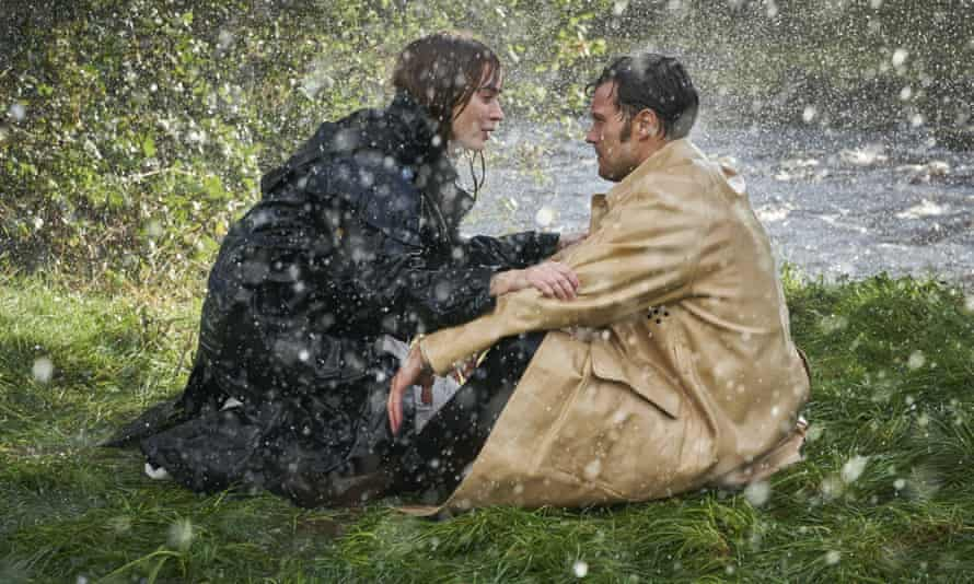 Emily Blunt and Jamie Dornan in Wild Mountain Thyme.