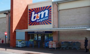A B&M store in Manchester