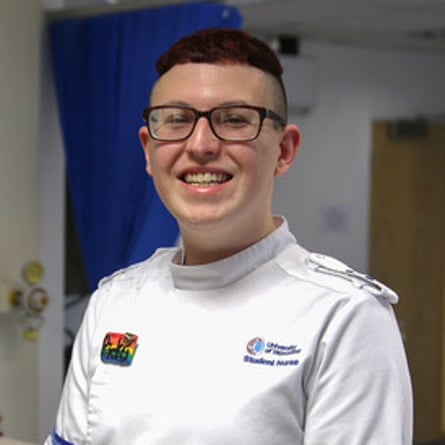 Ricky Baker - Student Nurse of the year (Children)