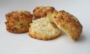 Cheese scones by Delia Smith.