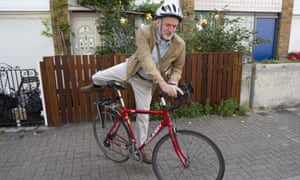 Labour leader Jeremy Corbyn is often seen riding his distinctive red bicycle.