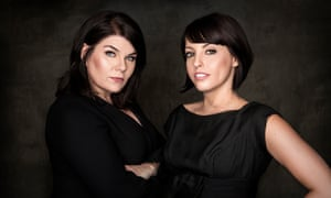 'From the start all we could do was talk honestly about our own experiences': (from left) Karen Kilgariff and Georgia Hardstark.