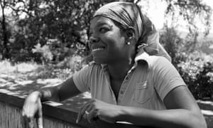 Maya Angelou, one of the many big names – and great voices – featured on the Terkel programme.