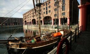 Liverpool's regenerated Albert Dock.