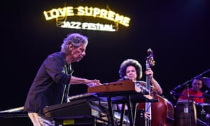 Beguiling … Chick Corea's Spanish Heart Band performing at Love Supreme, July 2019.