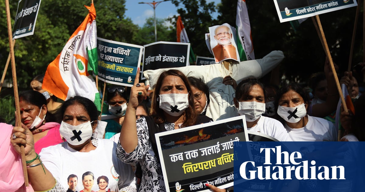 Third day of protests in Delhi over alleged rape of nine-year-old girl