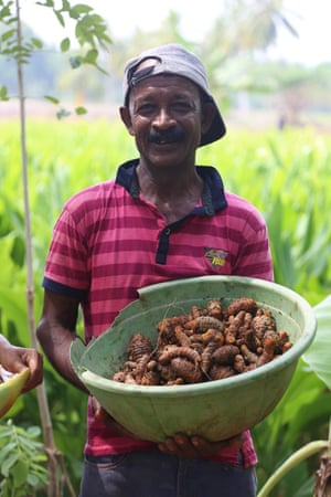 One of the Gonagala farmers
