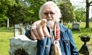 Billy Connolly's Great American Trail.