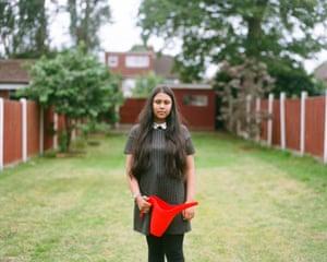 Tayiba, 13, Birmingham.