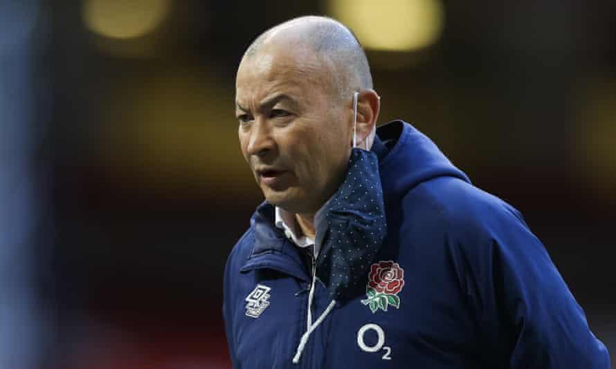 Eddie Jones at England's defeat in Wales