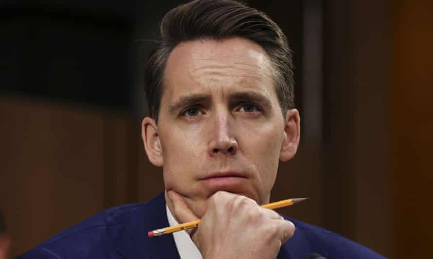 Josh Hawley's book The Tyranny of Big Tech will be published next week.