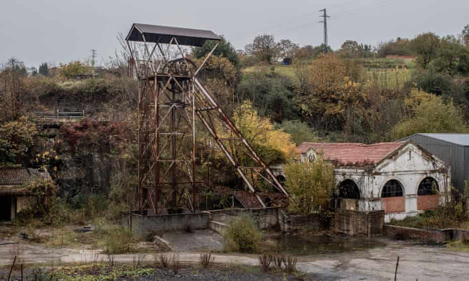 A disused mine in Pumarabule, Spain.