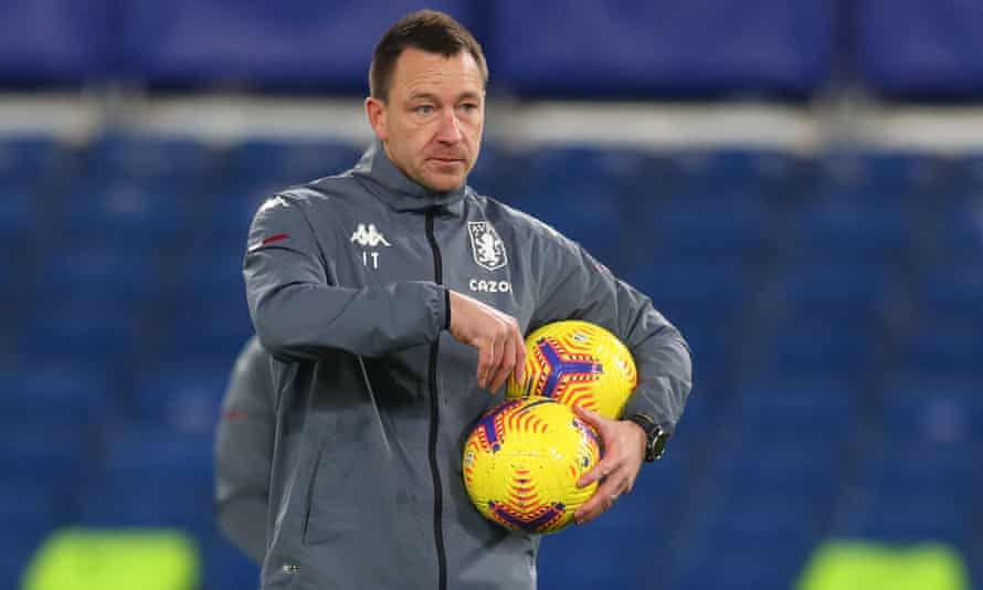 Looking for a football management job near you: Plain Old John Terry.