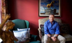 Congressman Charlie Dent at his residence in Allentown, Pennsylvania Sunday.