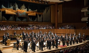The Berlin Philharmonic with Simon Rattle at the Royal Festival Hall, 30 May 2018.