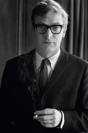 A portrait of Michael Caine taken in 1967