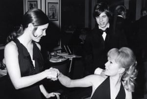 Carrie and Todd Fisher and Debbie Reynolds