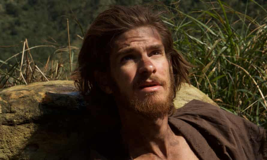 Haunted … Andrew Garfield as Father Rodrigues.