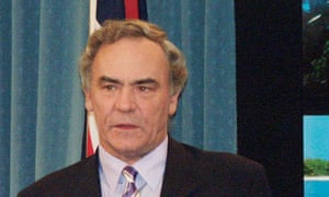 Dean Wells, pictured here in 2003, became attorney general five months after Fitzgerald tabled his report.