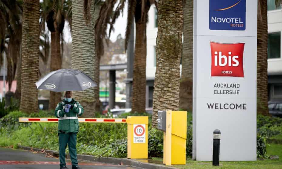 The Ellerslie Novotel quarantine hotel in Auckland