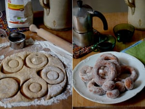 Cut out the middle, man: Rachel Roddy's ciambelle doughnuts.