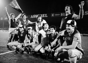 The Aston Villa players