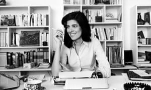American writer Susan Sontag (1933-2004) in 1972.