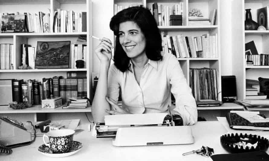 Susan Sontag at her typewriter, 1972. Is a dead technology coming back?