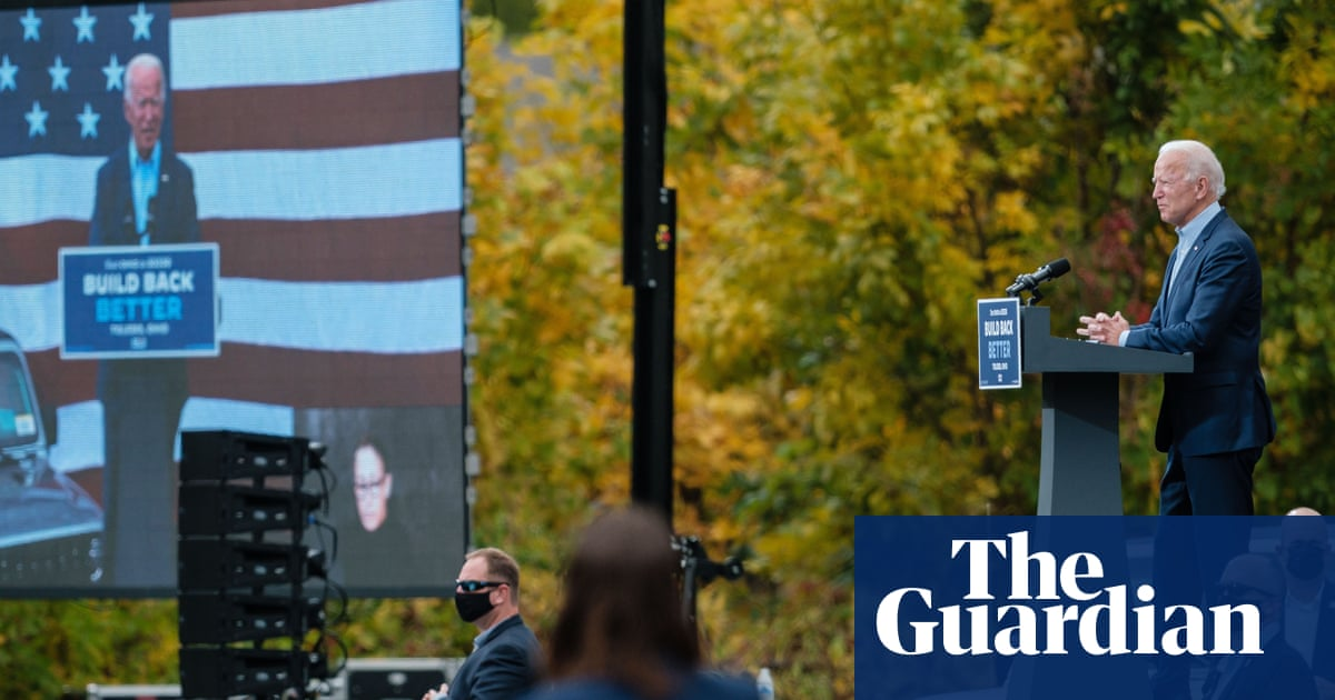 Biden campaigns in red state Ohio, hoping to expand battleground map