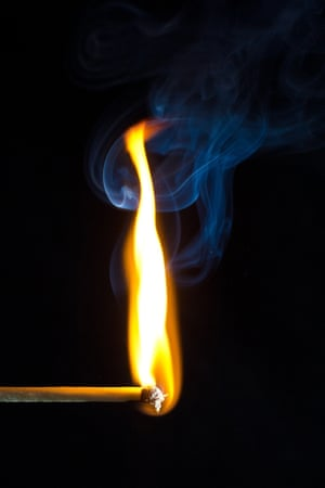 Creating fireA British invention, the match has been around since 1826 and still remains one of the easiest ways to start a fire... Photograph: Jeremy Black/GuardianWitness