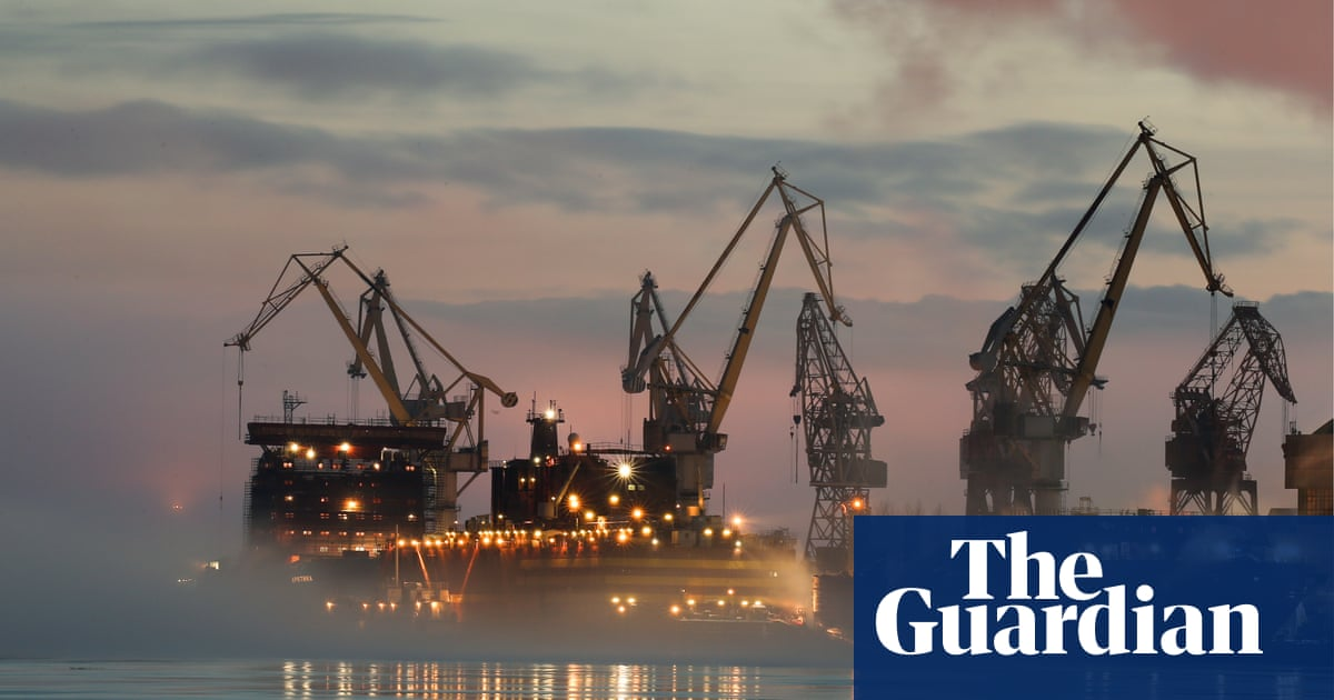 Fears Of Chernobyl On Ice As Russia Prepares Floating Nuclear