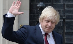 A table for two: Boris Johnson has been spotted dining with David Cameron in New York.