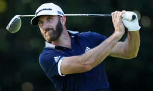 Dustin Johnson finished day two as co-leader at nine under.