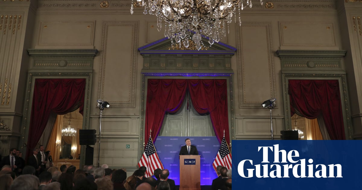 Trump is building a new liberal world order, says Pompeo
