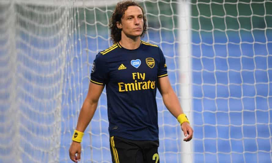 Arsenal centre-back David Luiz.