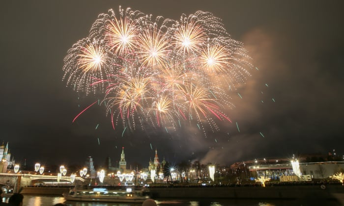 Fireworks, food and prayers: new year celebrated around the world ...
