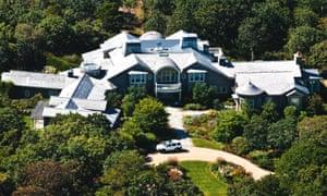 A mansion in Martha's Vineyard