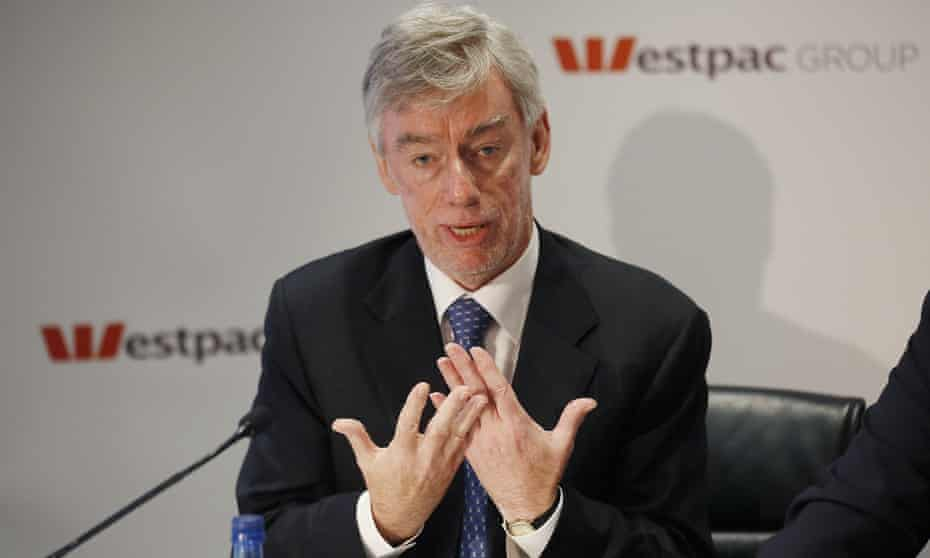 The chairman of Westpac, Lindsay Maxsted, at the bank's annual general meeting in Sydney on Friday.