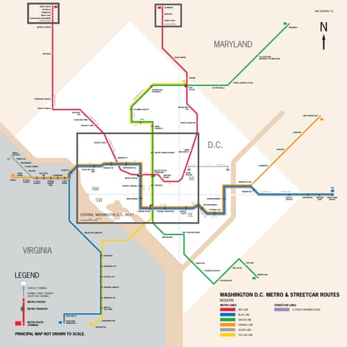 Subway Map Marketing.Mapped Historical Public Transit Systems V Their Modern Equivalents
