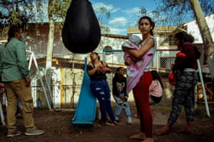 Kleidy fled insecurity in Venezuela. She and others are now at Casa Isabel, an emergency shelter for migrant children