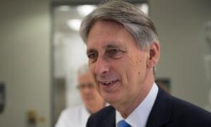 Philip Hammond will present his next budget on 22 November.