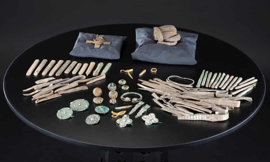 The Galloway Hoard has been acquired by National Museums Scotland.