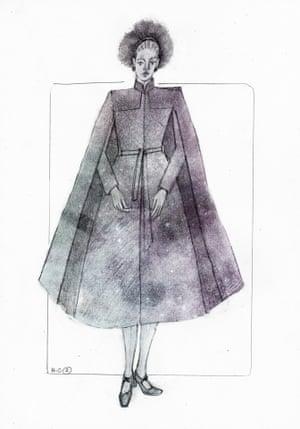 Hermione Granger costume design by Katrina Lindsay