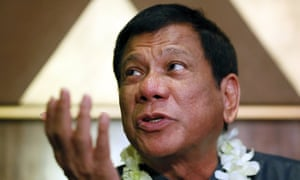 Rodrigo Duterte said he did not intend to disrespect 'those who have been victims of this horrible crime'.