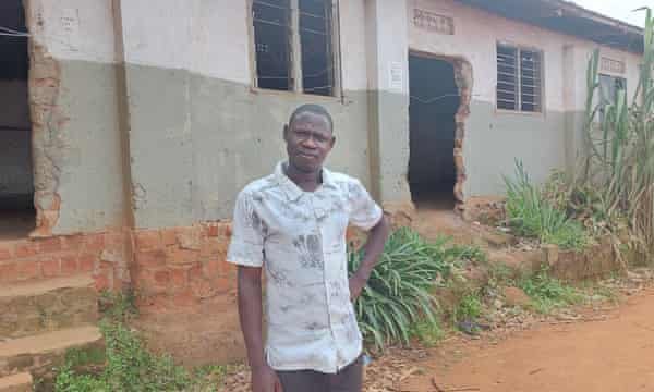 George Wakirwaine was unable to support his family after his teaching salary stopped.
