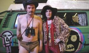 Julian Barratt, left, and Noel Fielding in the Mighty Boosh