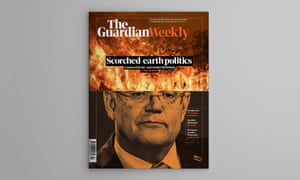 The cover of the Australian edition of Guardian Weekly