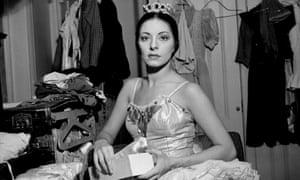Alicia Alonso pictured in Paris in 1955